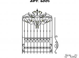 Кованые решетки - 6005