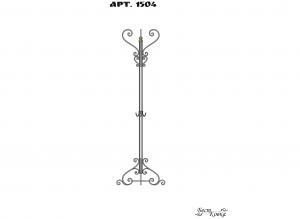 Кованые вешалки - 1204