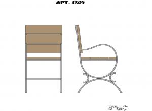 Кованые кресла - 1205