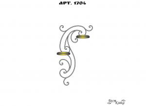 Кованые цветочницы -1704
