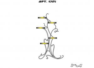 Кованые цветочницы -1705